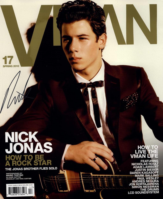 Nick Jonas for VMAN Spring 2010