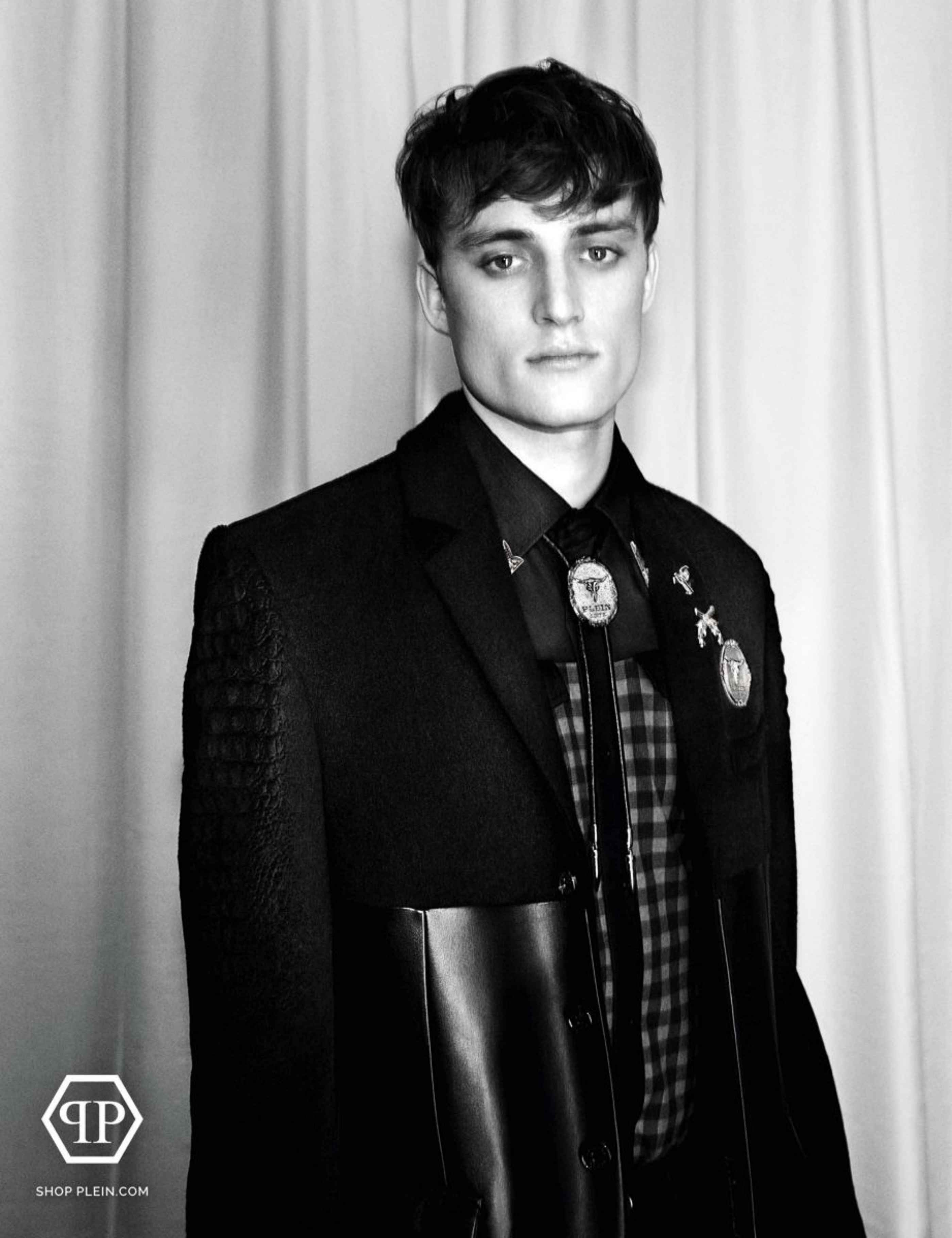 Bastiaan Van Gaalen for Philipp Plein Fall/Winter 2014 Ad Campaign