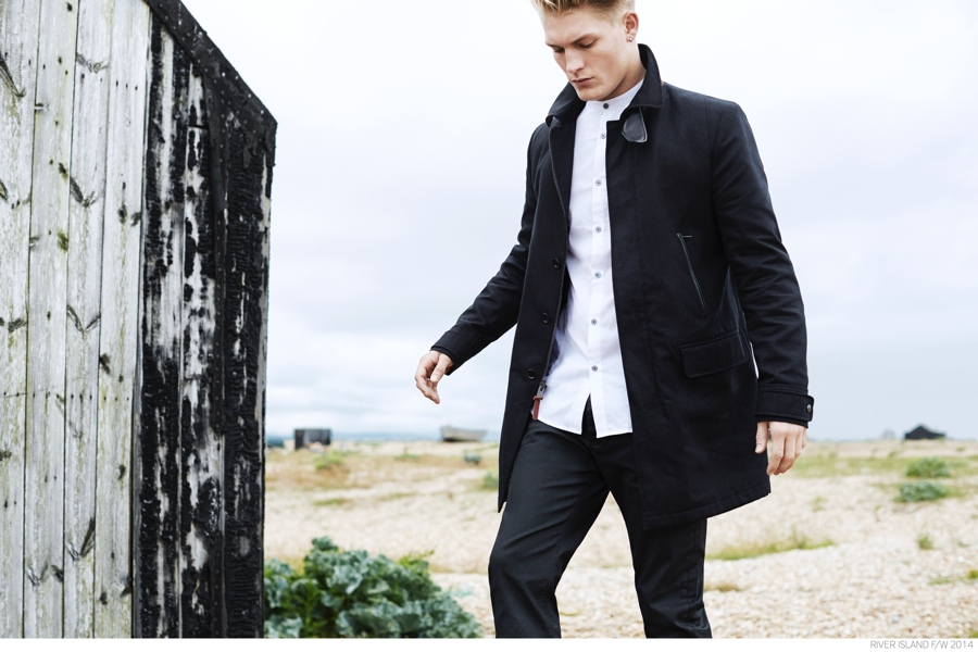 River Island's Holloway Road Fall 2014 Collection Tackles Sharp Tailoring + Modern Design