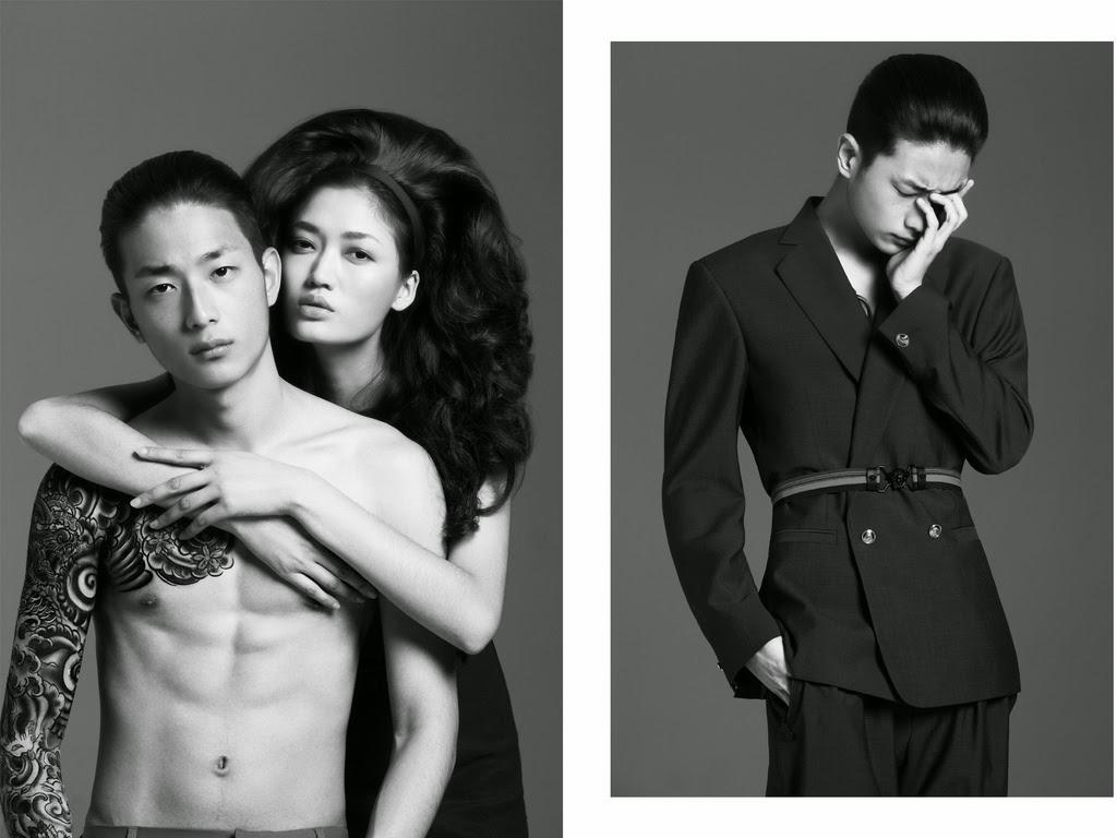Sung Jin Park by Natth Jaturapahu for Harper's Bazaar Men Thailand Spring/Summer 2014 Issue