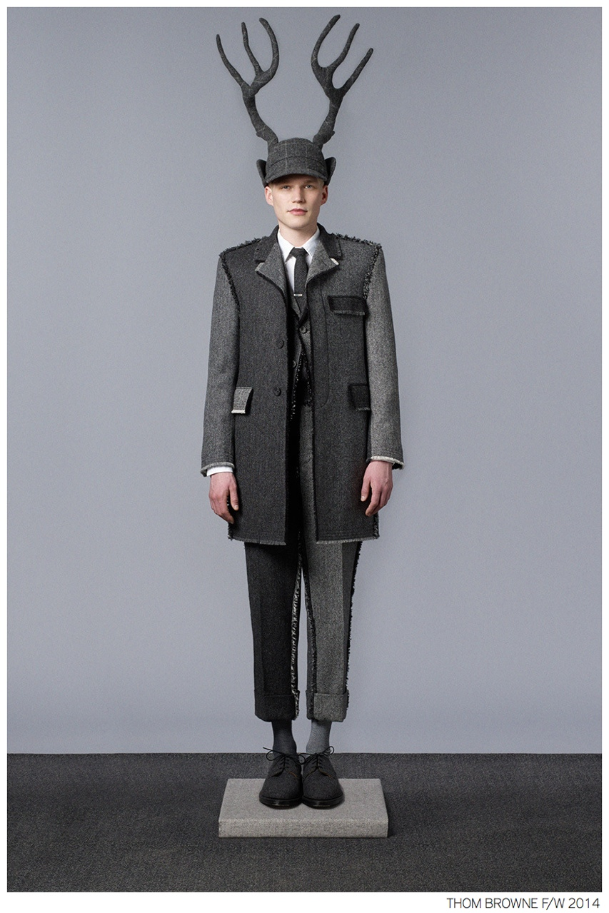 Thom Browne Fall/Winter 2014 Collection Lookbook