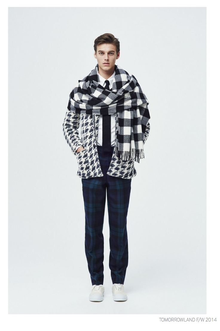 Tomorrowland Unveils Tartan Prints for Fall/Winter 2014 Collection