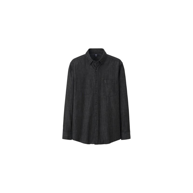 UNIQLO-Denim-Shirt