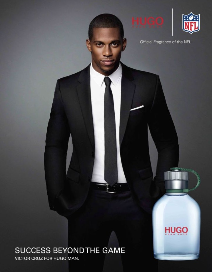 Victor Cruz, Clay Matthews & DeMarcus Ware Star in Hugo Boss' 'Success Beyond The Game' NFL Campaign