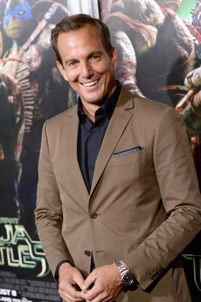 Will Arnett Wears Fall-Hued Salvatore Ferragamo Suit to 'Teenage Mutant Ninja Turtles' Premiere