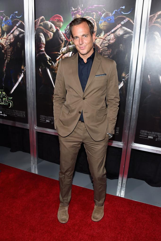 Will Arnett Wears Fall-Hued Salvatore Ferragamo Suit to 'Teenage ...