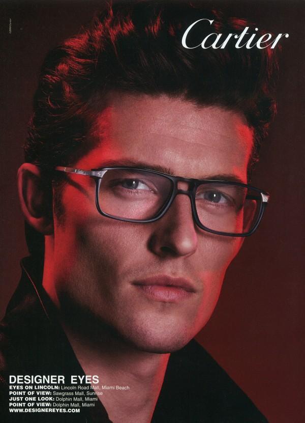 Wouter Peelen - Cartier eyewear -  Luigi and Daniele + Iango