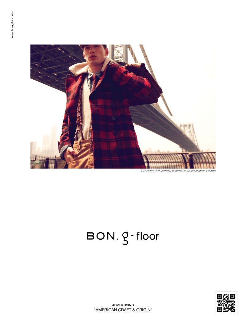 TBT: Felix Schopgens for Bong G Floor Fall 2011 Campaign