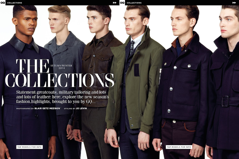 Matthew Holt, O'Shea Robertson, Jakob Hybholt + More Unveil the Fall Collections for GQ UK