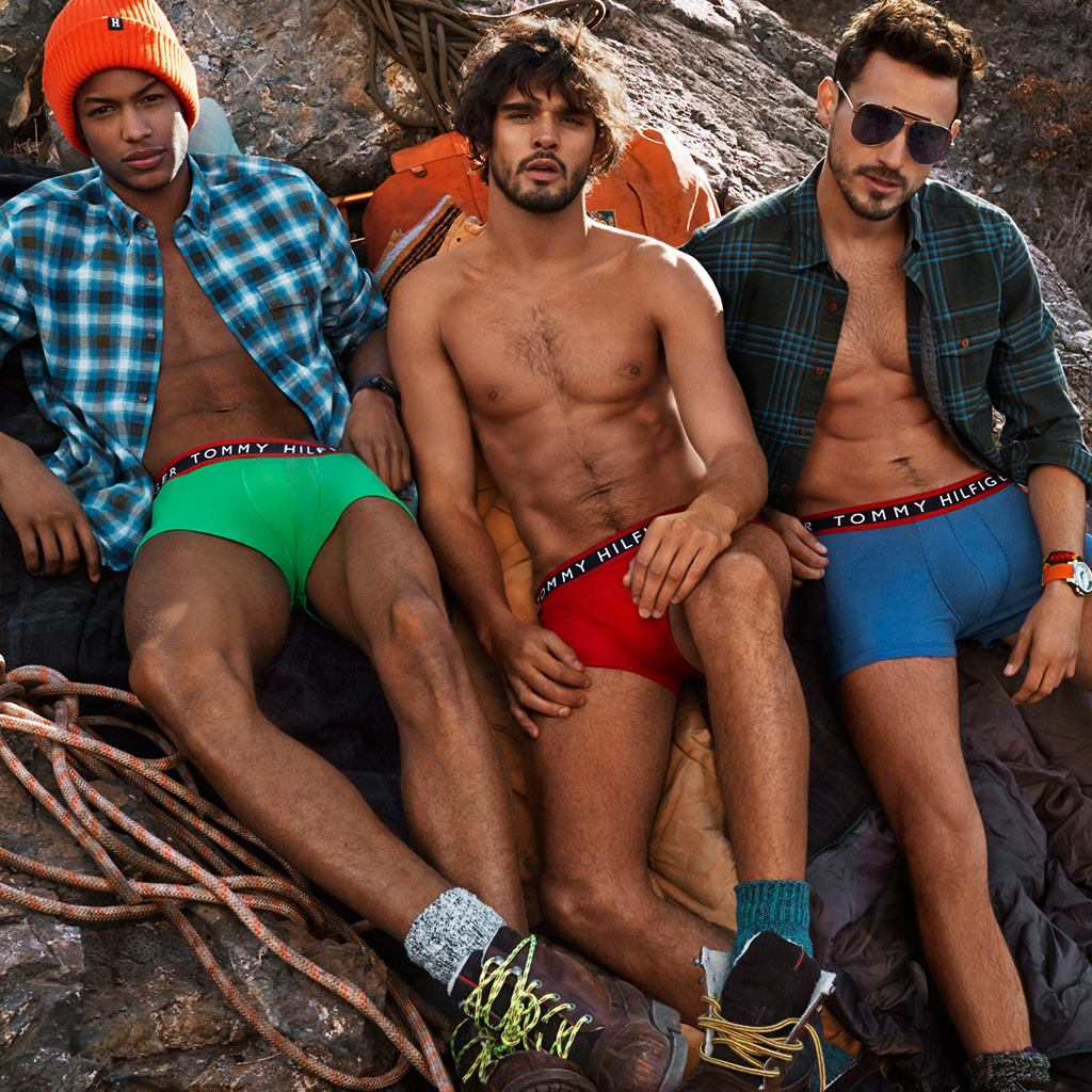 Tommy Hilfiger Unveils Colorful Boxer Briefs For Fall 2014