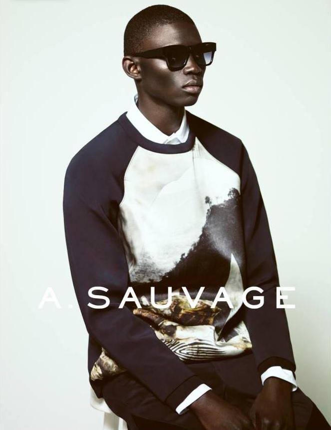 Fernando Cabral Fronts A.Sauvage 2014 Eyewear Campaign