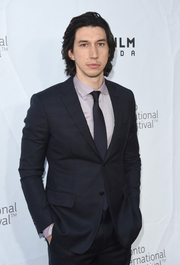 Adam Driver cleans up for 'This Is Where I Leave You' premiere during Toronto International Film Festival.