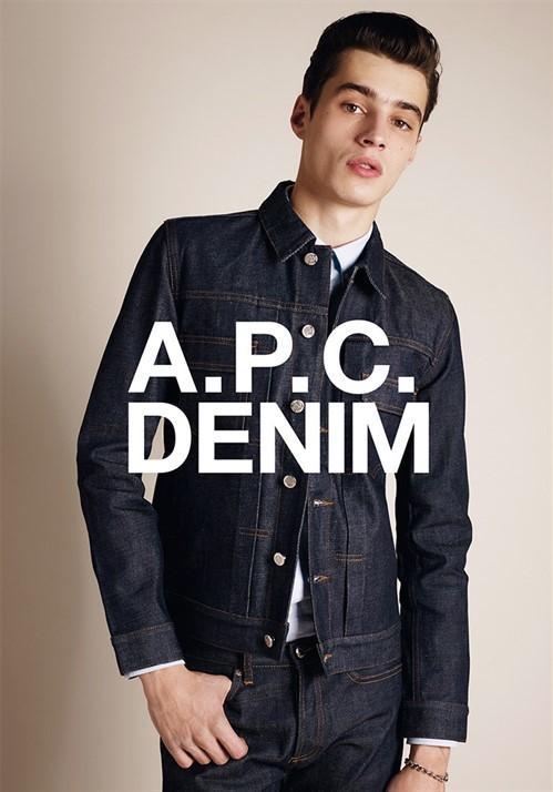 Adrien Sahores for A.P.C. Denim Fall/Winter 2014