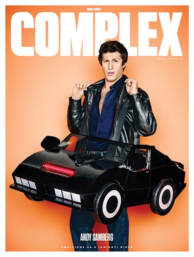 Andy Samberg Covers Complex October 2014 Issue