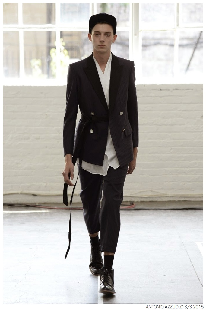 Antonio Azzuolo Mixes Casual + Formal Styles for Spring/Summer 2015 Collection
