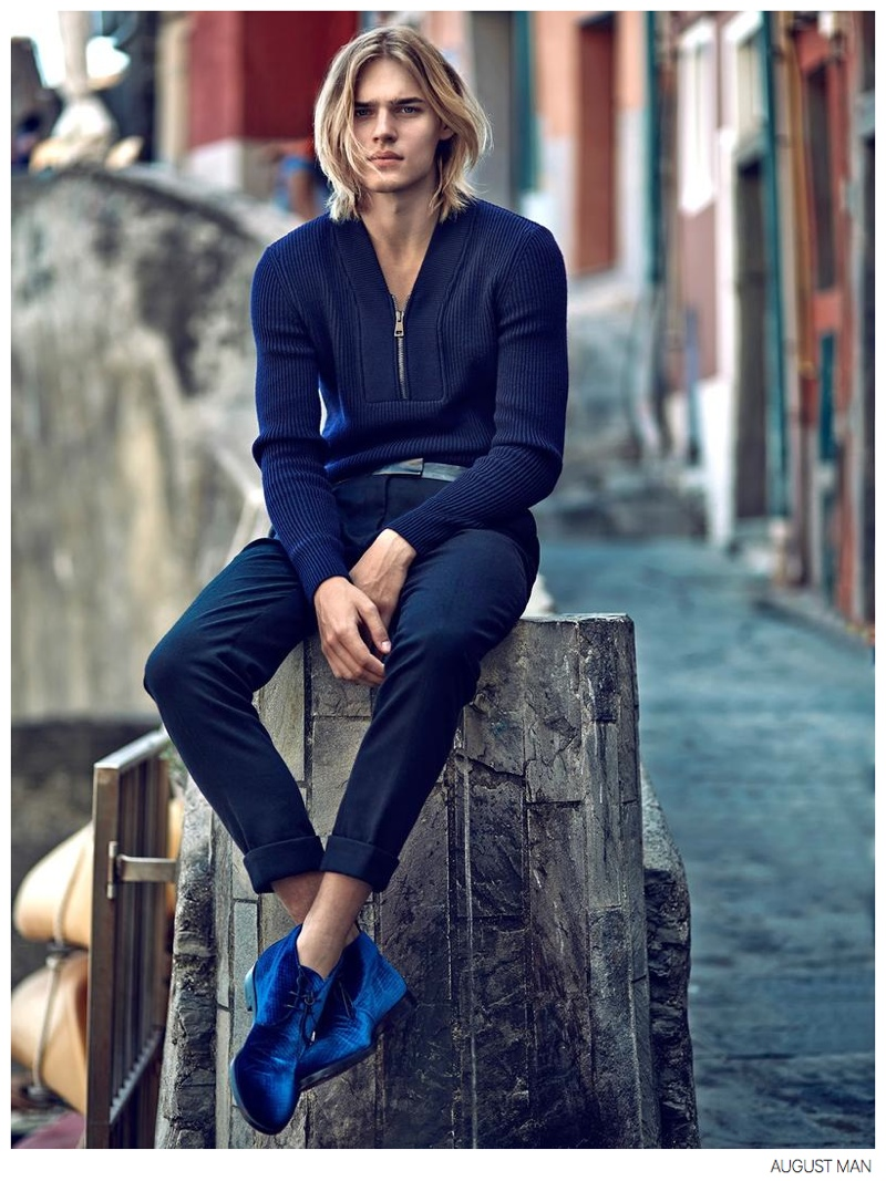 Ton Heukels + Aurelien Muller Step Out In Luxe Fall