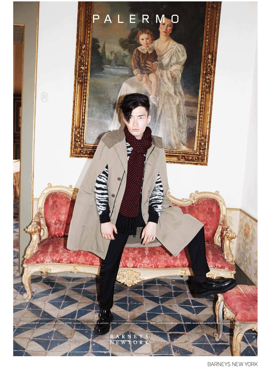 Barneys New York Visits Palermo for Fall/Winter 2014 Men's Catalogue