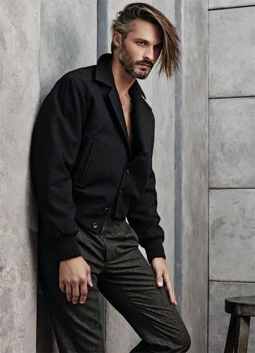 Ben Hill Models Ermenegildo Zegna For Out Magazine The