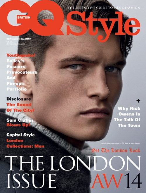 John Todd, Benoit Taupin + David Bailey Cover British GQ Style Fall/Winter 2014