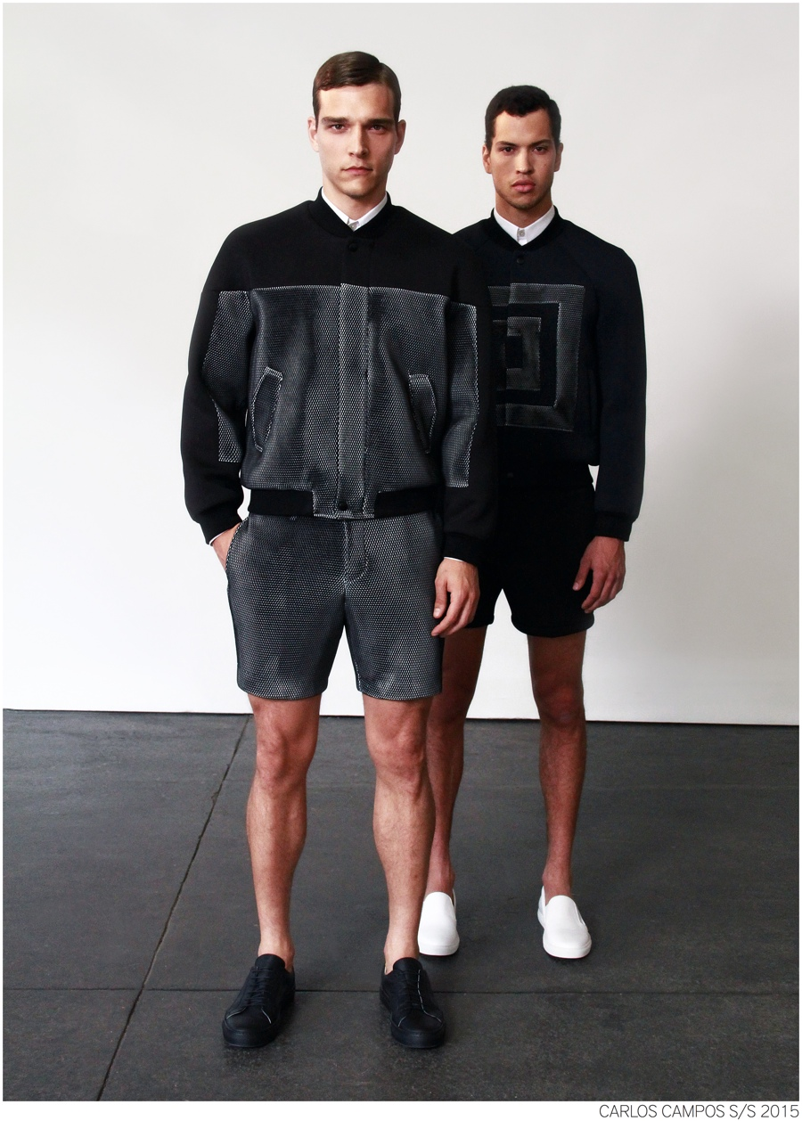 Carlos Campos Goes Sporty for Spring/Summer 2015 Collection