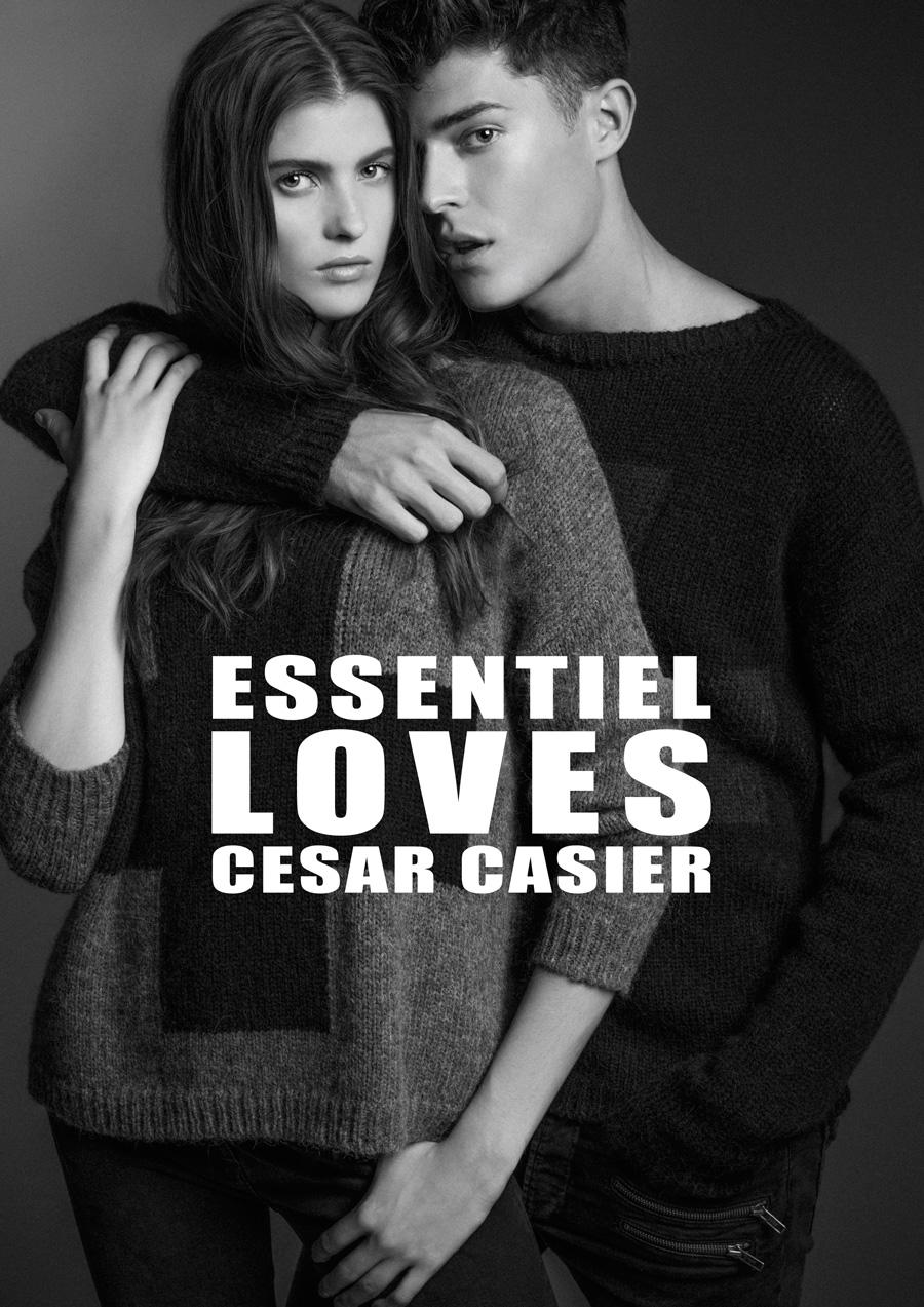 Cesar Casier for Essentiel Fall/Winter 2014