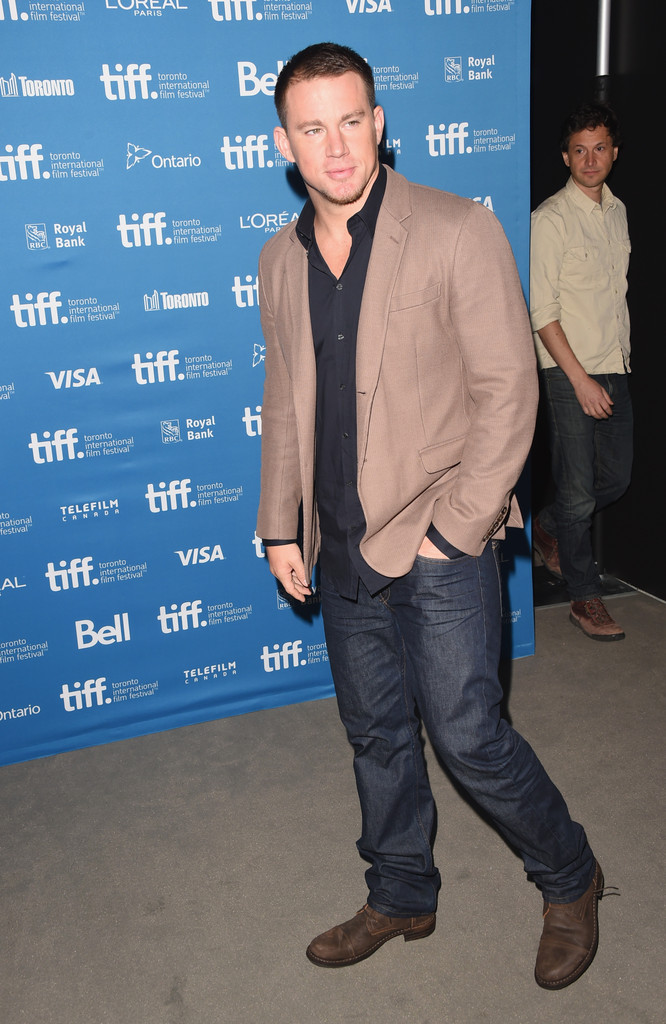 Channing Tatum Steps Out in Fiorentini + Baker Boots