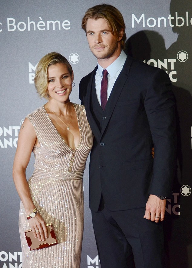 Chris Hemsworth Charms in Dolce & Gabbana Three-Piece Suit