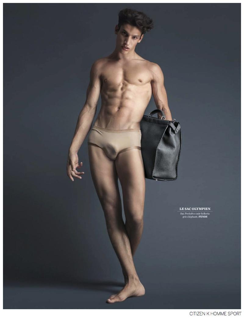 Jhonattan Burjack Nude iasonas laios + lucas mikulski go nude for fendi fall 2014