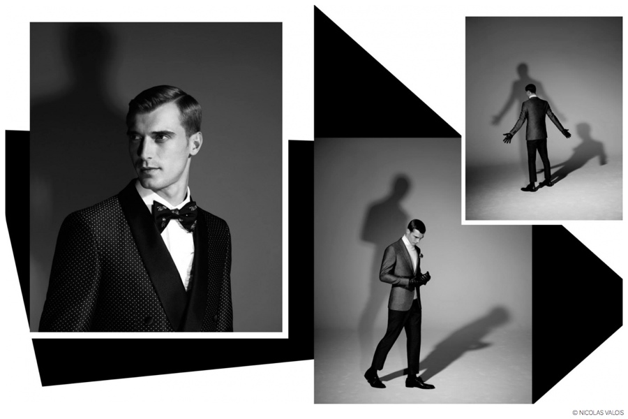 Clément Chabernaud Exudes Elegance in Photos by Nicolas Valois