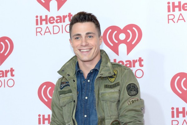 'Arrow' actor Colton Haynes attended the iHeartRadio Musical Festival on September 19, 2014 in Las Vegas as one of the event's presenters. For the special occasion, Haynes, the current face of Diesel, wore the label's J-Amma Military Jacket with Patches. Haynes completed his look in double denim, opting for a denim shirt and skinny jeans.