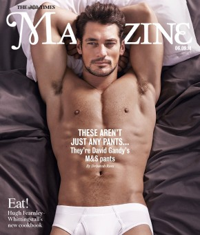 David-Gandy-Underwear-Marks-Spencer-The-Times-Magazine-Cover-Shirtless