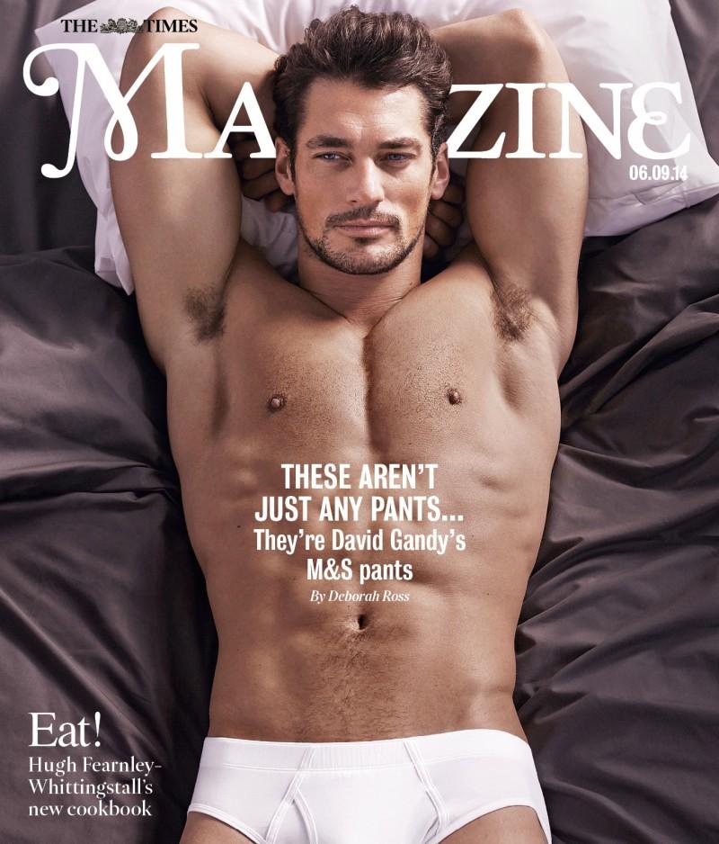 David Gandy Underwear Marks Spencer The Times Magazine