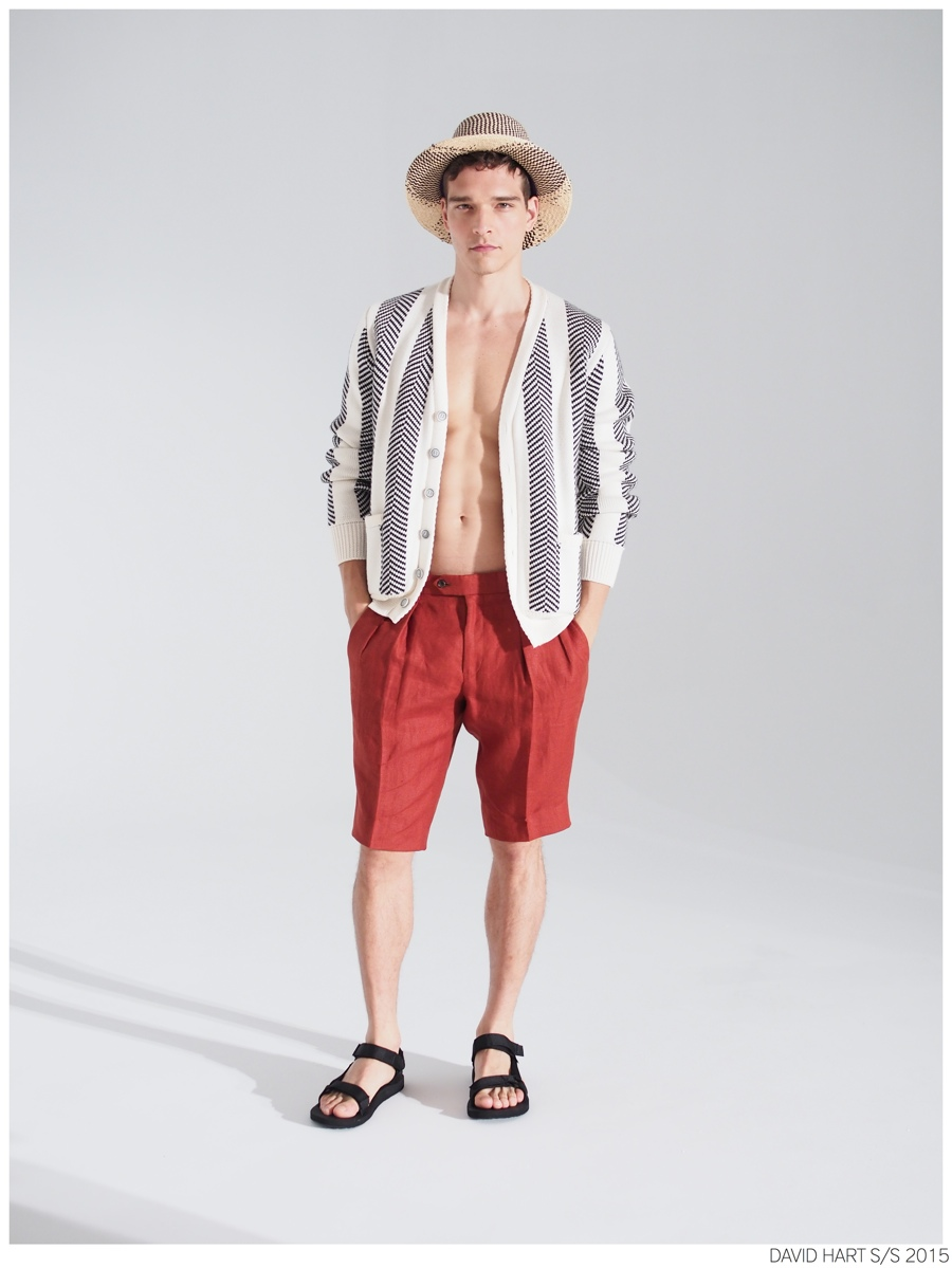 David Hart Channels Palm Springs for Spring/Summer 2015 Collection