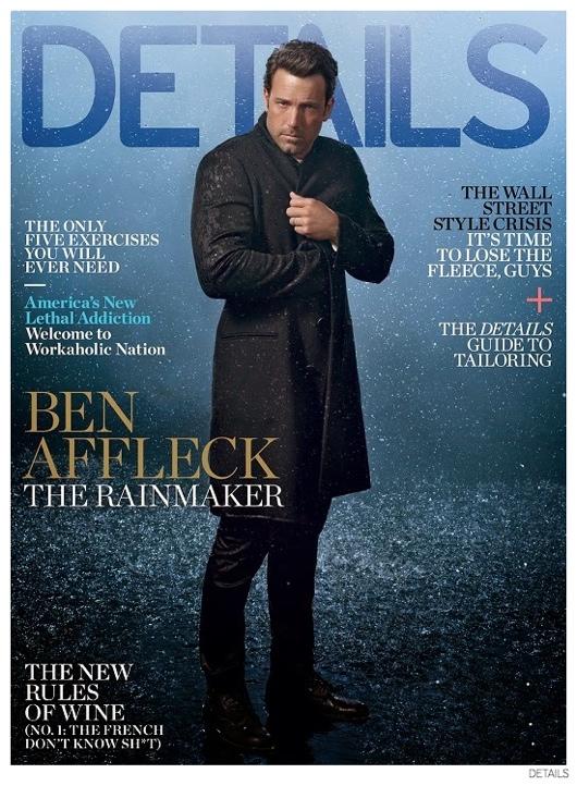 Ben Affleck Covers Details October 2014 Issue, Talks 'Gone Girl'