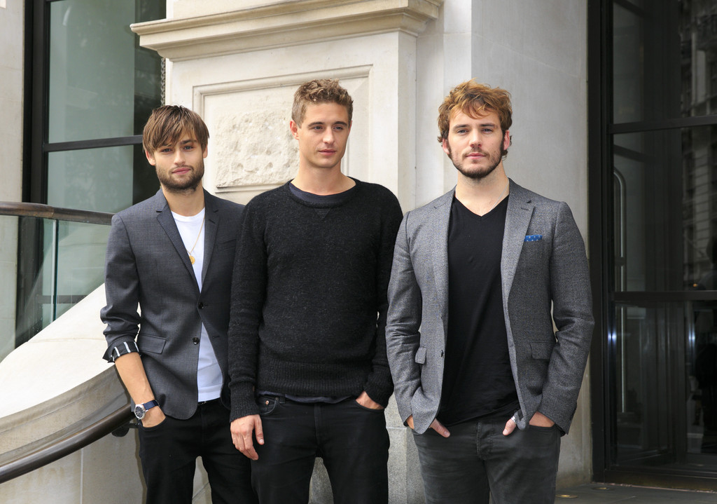 Douglas Booth, Max Irons + Sam Claflin Attend 'The Riot Club' Photocall