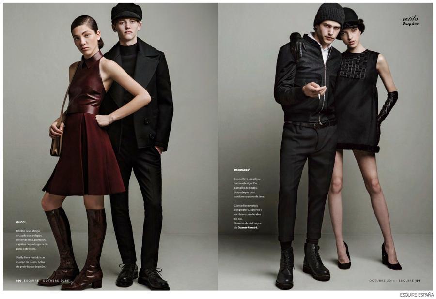Couples Fashions: Robert Laby, O'Shea Robertson + More for Esquire España