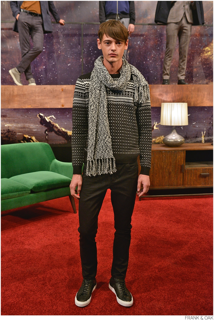 Frank & Oak Presents Fall 2014 Collection During New York Fashion Week