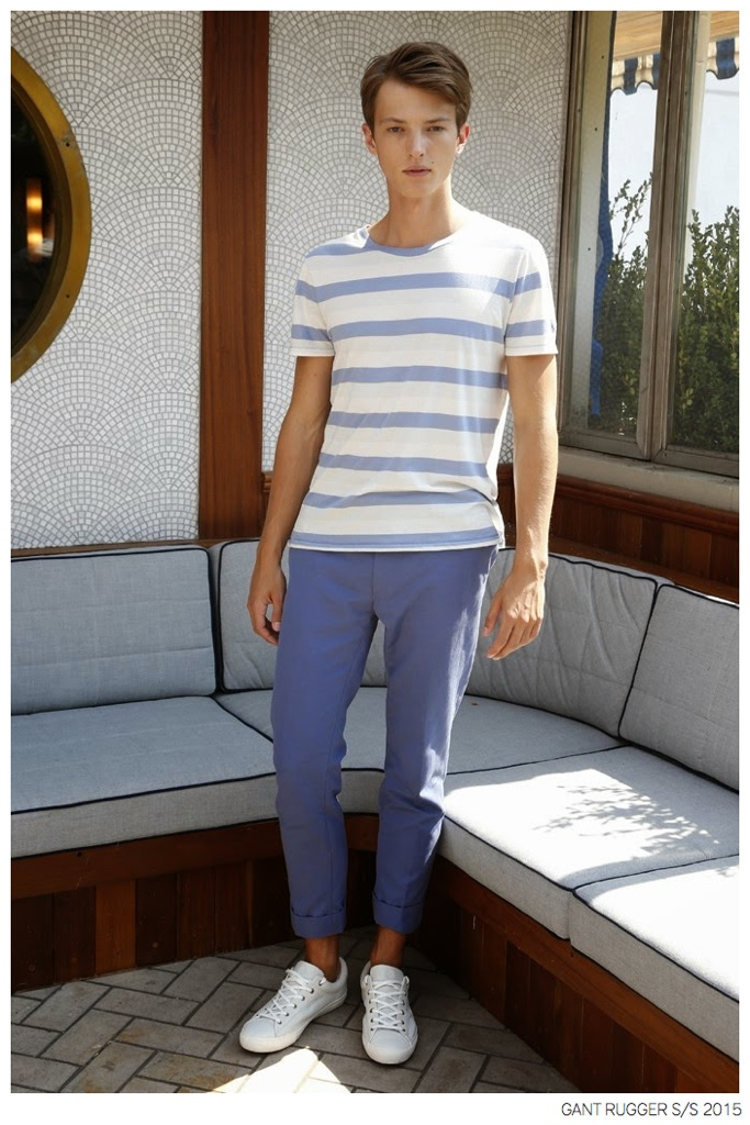 GANT Rugger Unveils Nautical Fashions for Spring/Summer 2015