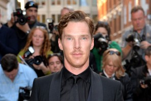 Benedict Cumberbatch cleans up in a formal look from Spencer Hart.