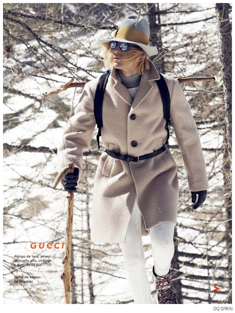 Ton Heukels & Edward Wilding Venture Outdoors in Fall Collections for GQ España
