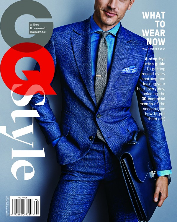 Arthur Kulkov is the cover model of the launch issue of American GQ Style. The magazine will be produced twice a year and stand as the essential guide to seasonal menswear style. The magazine is available on newsstands for $12.99.