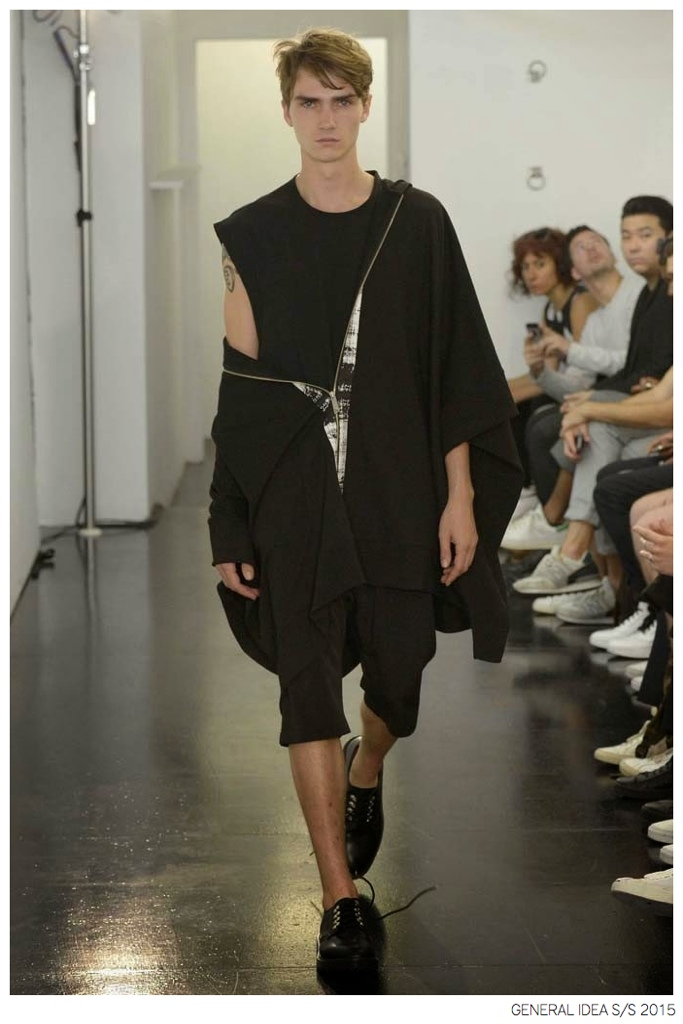 General Idea Goes Sporty with Graphic Black & White Fashions for Spring/Summer 2015