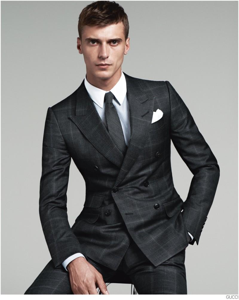 Clément Chabernaud Gucci Suit