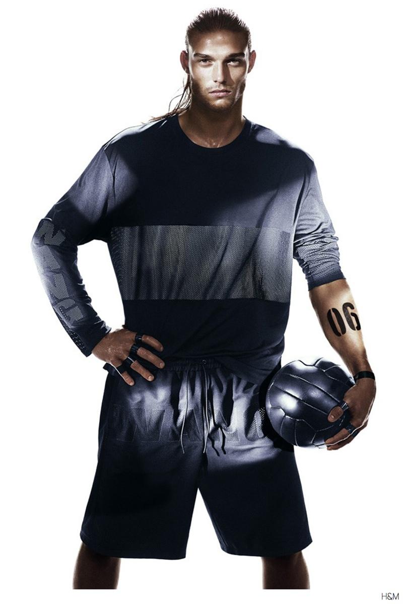Alexander Wang for H&M Campaign: Andy Carroll & Rivaldino Santos