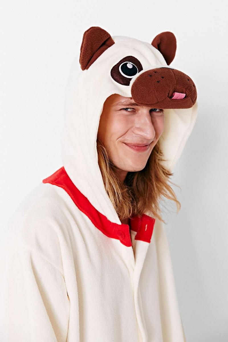 halloween kigurumi pug costume