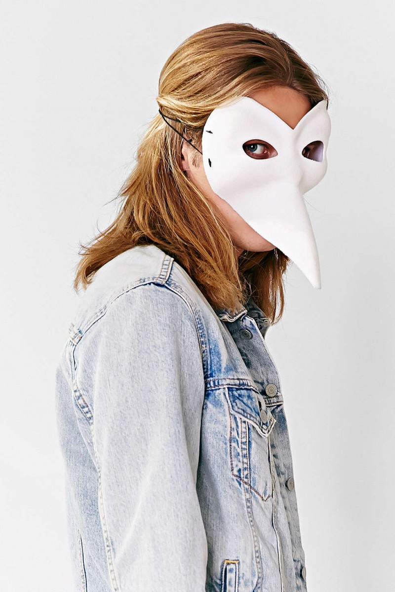 halloween venetian bird mask
