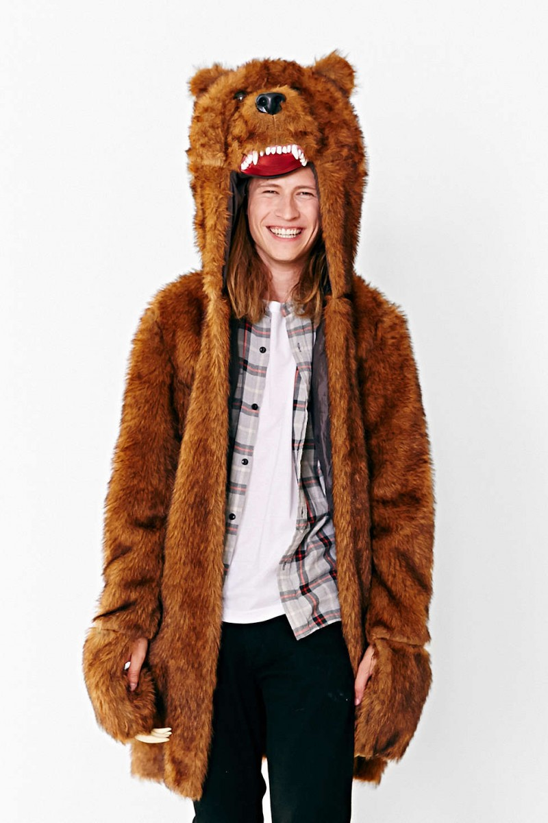 halloween workaholics bear coat
