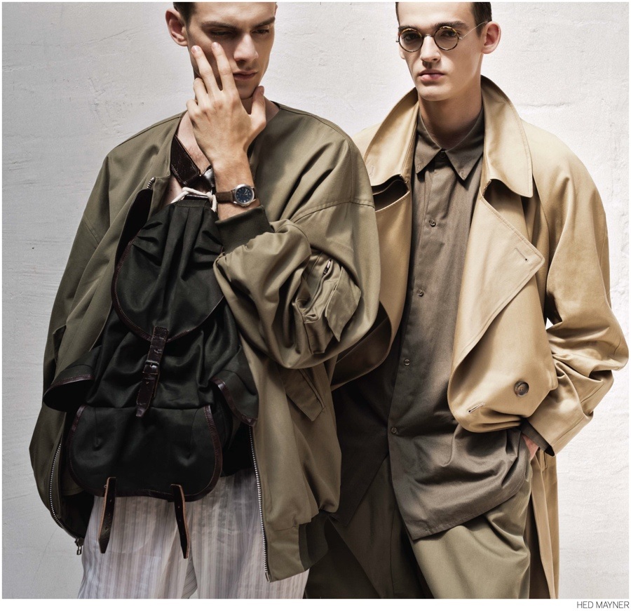 Douglas Neitzke + Florentin Glemarec for Hed Mayner Fall/Winter 2014