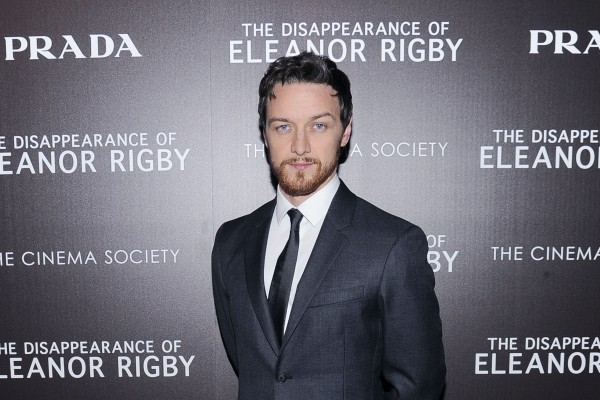 James McAvoy attends screening of 'The Disappearance of Eleanor Rigby'