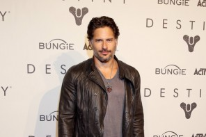 Stepping out to attend Activision and Bungle's launch of 'Destiny', actor Joe Manganiello hits the red carpet in Seattle, Washington on September 8th. Always displaying a laid-back, cool sense of style, Manganiello pairs a John Varvatos leather jacket jacket and t-shirt with a slim-cut pair of pants and leather boots.
